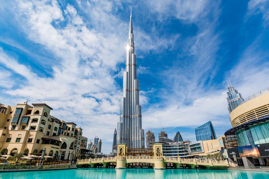 Flugreise Vereinigte Arabische Emirate - Burj Khalifa