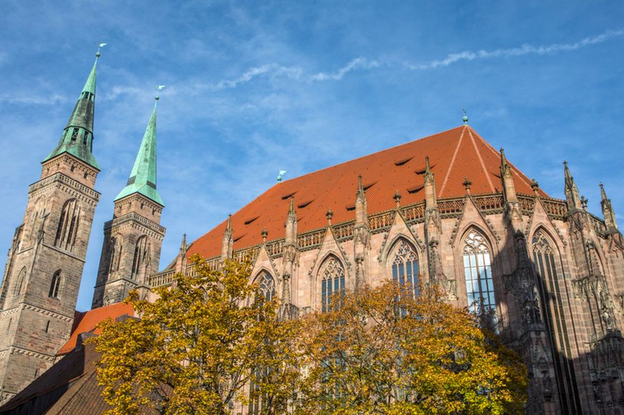 Städtereise Nürnberg - Sebalduskirche