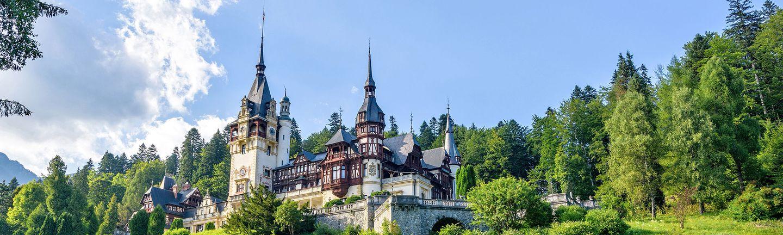Busreise Rundreise Rumänien Schloss Peles