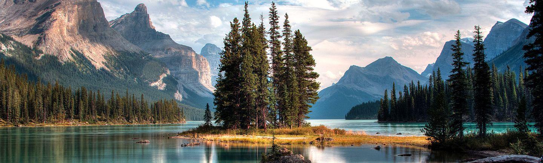 Flugreise Kanada Rocky Mountains