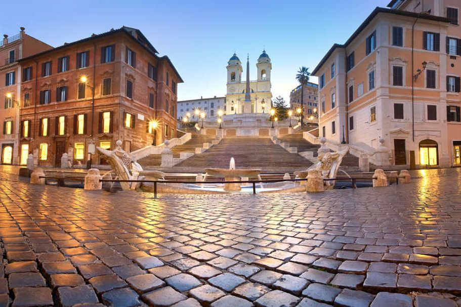 Städtereise Rom - Brunnen