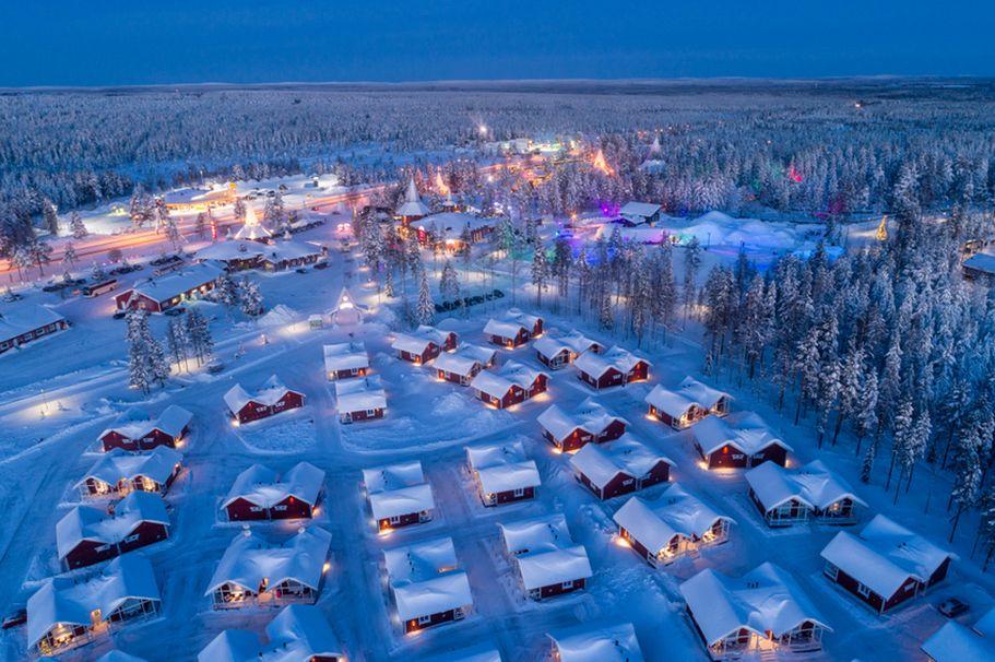 Flugreise Finnland -  Weihnachtsmann Stadt