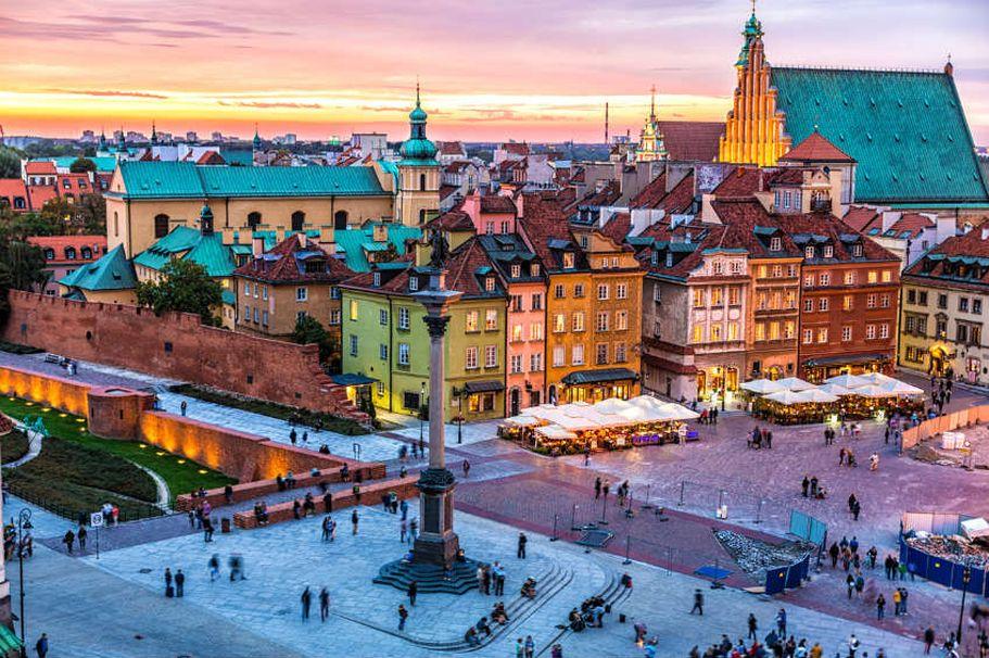 Rundreise Polen - Warschau