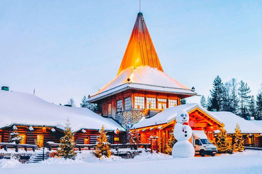 Flugreise Finnland -  Weihnachtsmann Büro