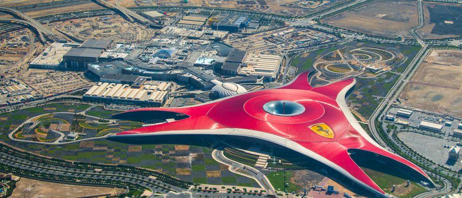Flugreise Vereinigte Arabische Emirate - Ferrari World