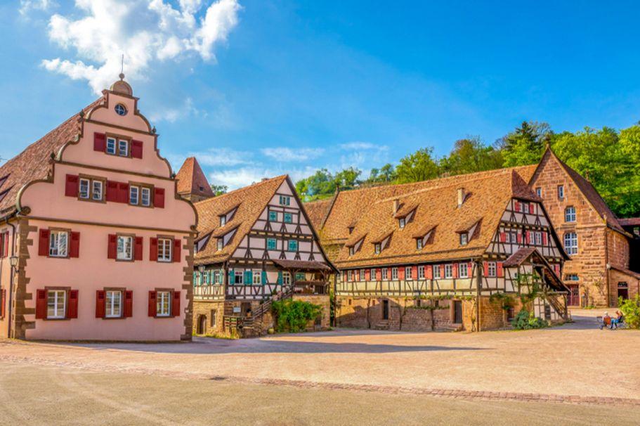 Schloesser und Burgen - Kloster Maulbronn