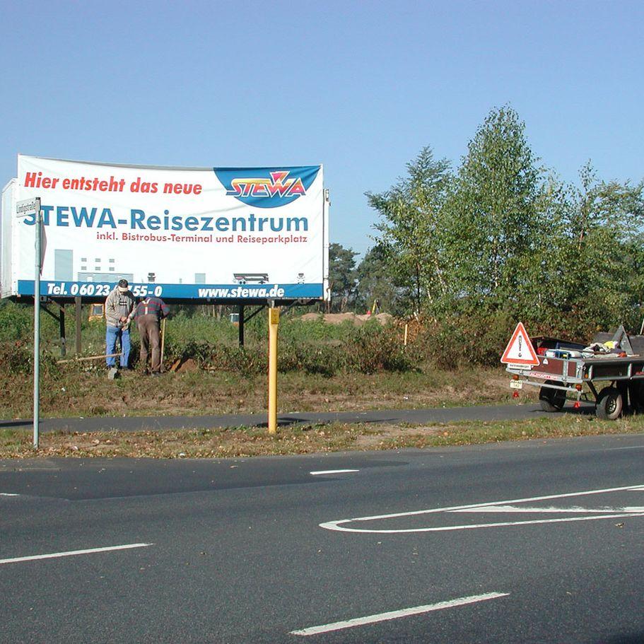 Baustart des STEWA Reisezentrums in Kleinostheim