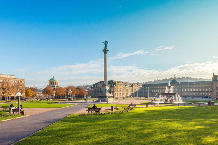 Städtereise Stuttgart - Schlossplatz