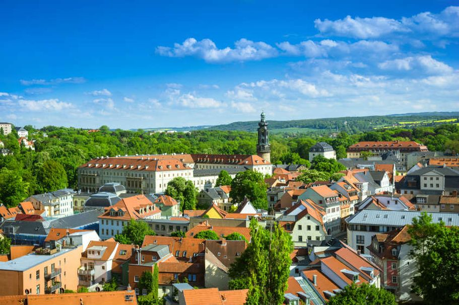 Städtereise Weimar - Stadt und Natur