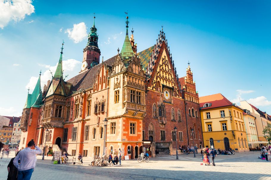 Städtereise Breslau - Universität