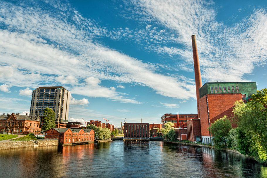 Flugreise Finnland - Tampere