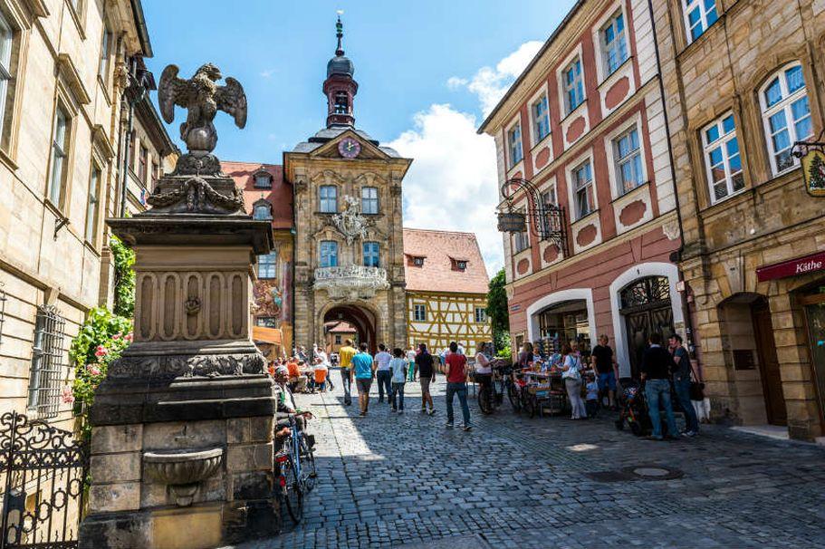 Busreise Bamberg - Stadtmitte