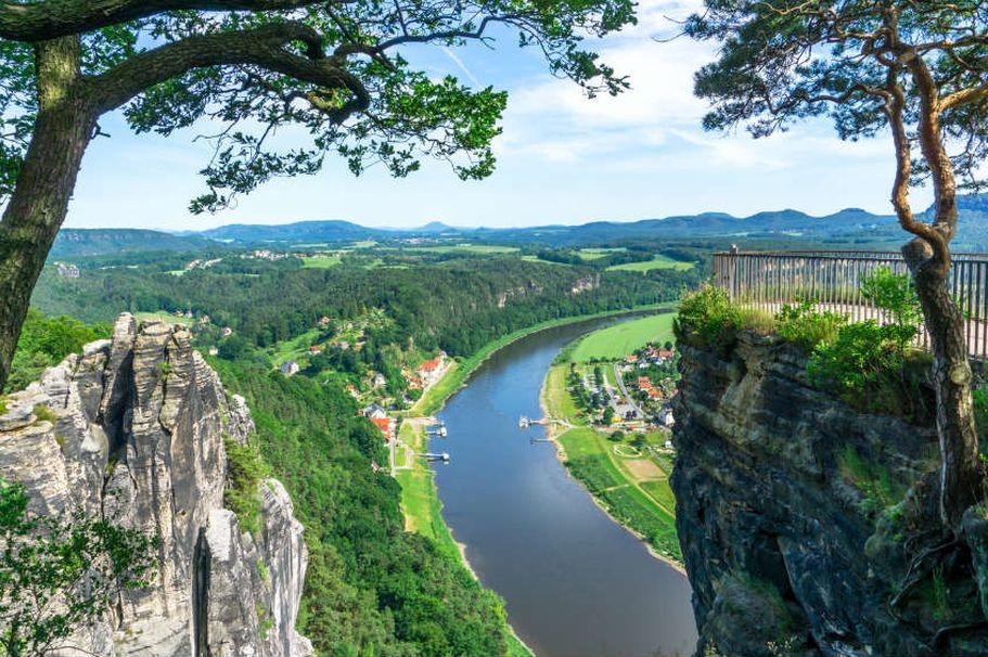 Flusskreuzfahrt Elbe und Moldau - Sächsische Schweiz