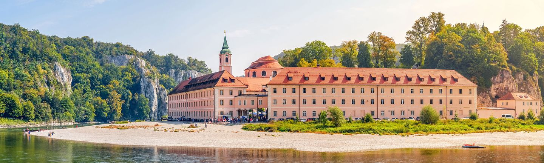 Flusskreuzfahrt Donau Kloster Weltenburg