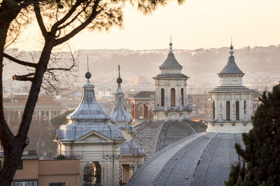 Städtereise Rom - Kuppeln